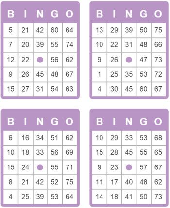 Tarjetas De Bingo De 75 Bolas Free Bingo Cards Bingo Card Template Free Printable Bingo Cards