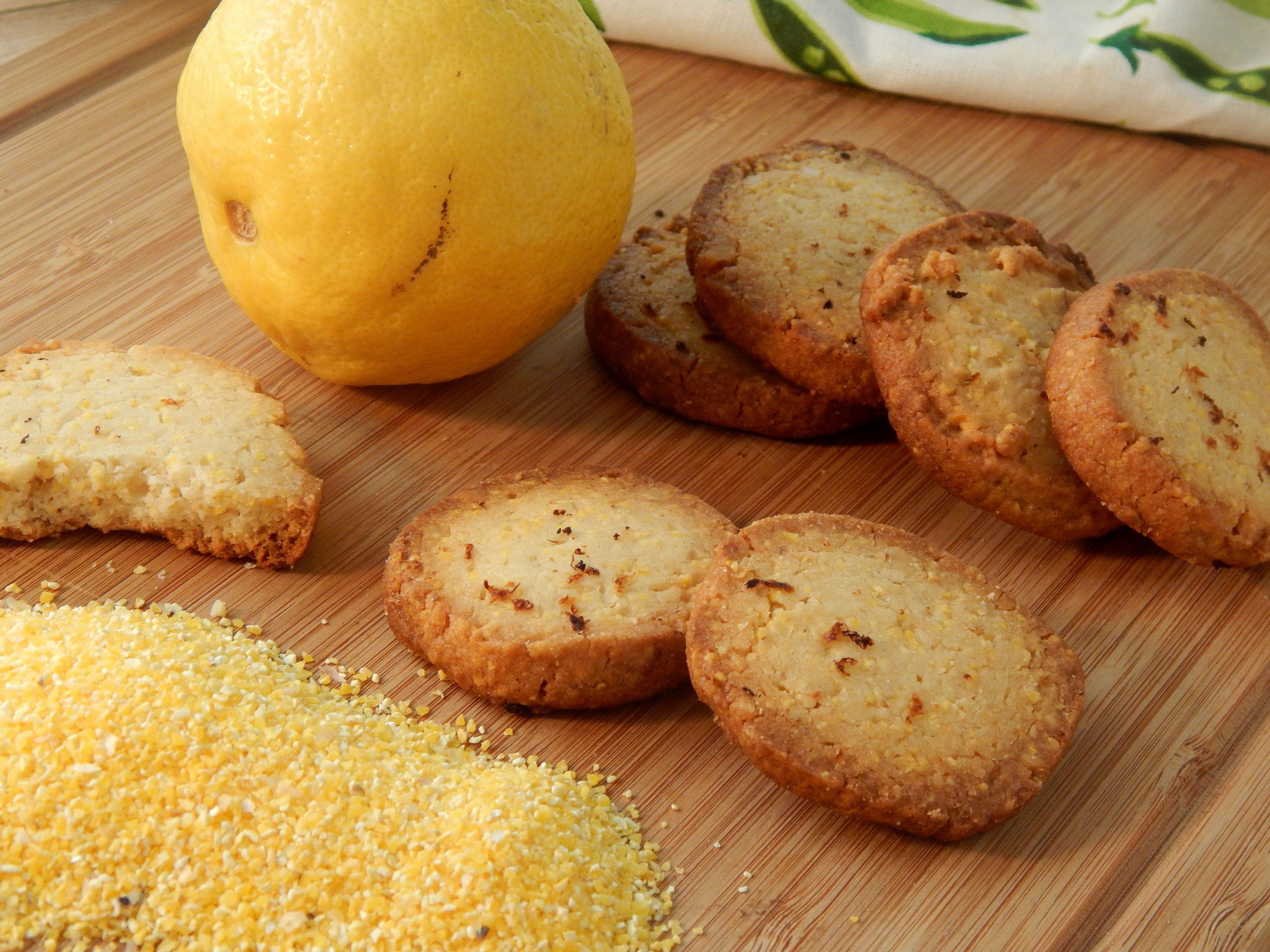 Lemon Polenta Biscuits Recipes Pastry Cook Biscuit Recipe