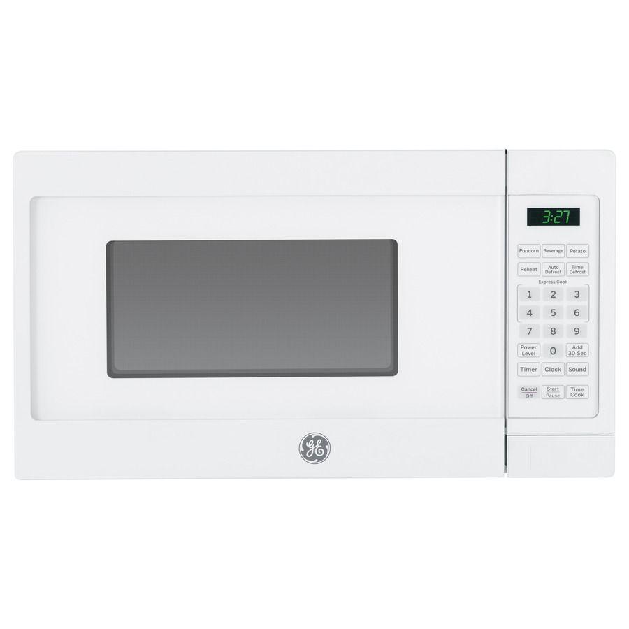 GE Cu Ft Watt Countertop Microwave White Kitchens Galore - Abt microwaves