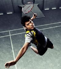 Jump Smash Lin Dan Badminton Outfits Badminton Smash Badminton Photos
