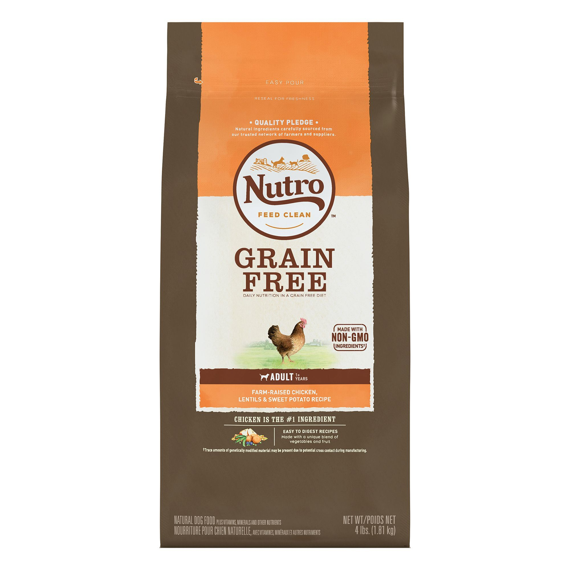 Nutro Adult Dog Food Natural Chicken Lentils And Sweet Potato