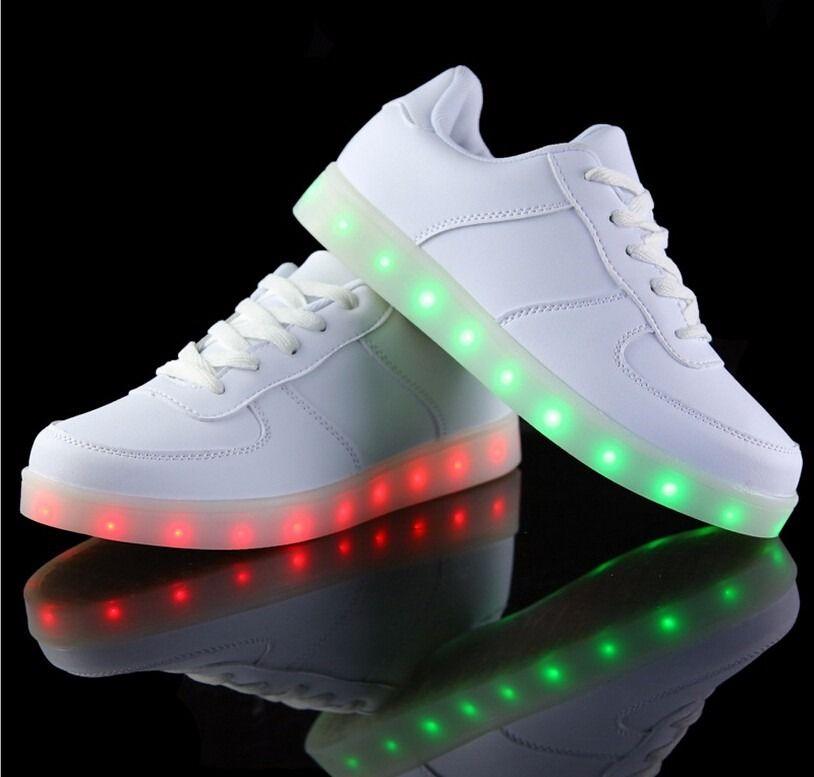 470bbbd8f tenis led-luminosos colores unisex zapatos ropa deportiva