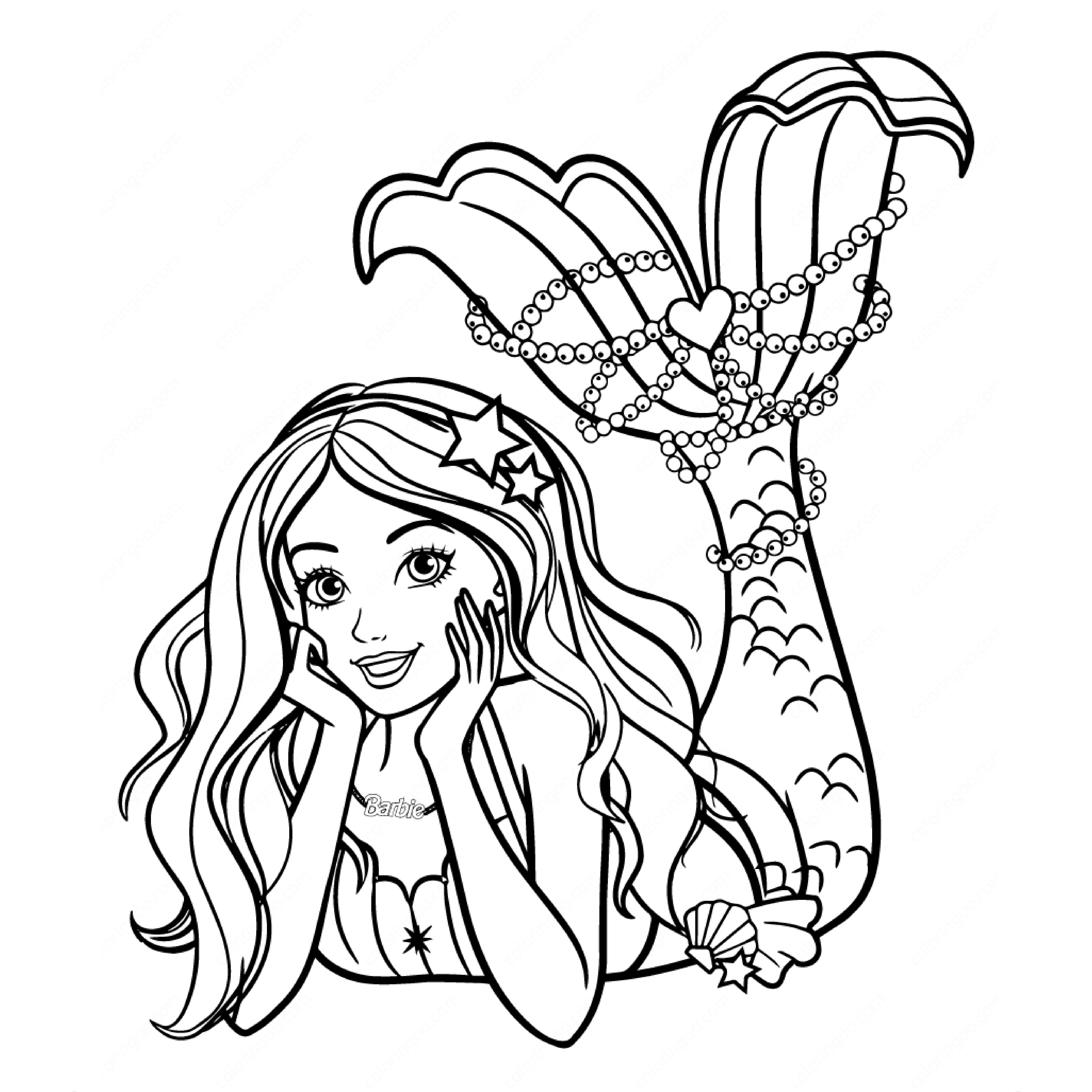 Kishorbiswas I Will Design Coloring Pages For Kids With Animals For 5 On Fiverr Com In 2021 Mermaid Coloring Book Mermaid Coloring Barbie Coloring