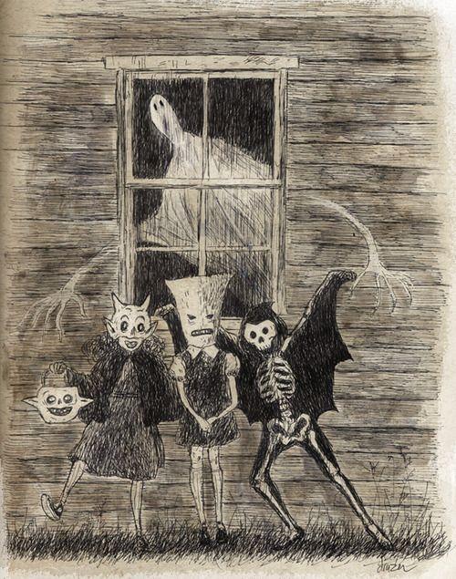 Halloween Sketchbook by the Happy Undertaker