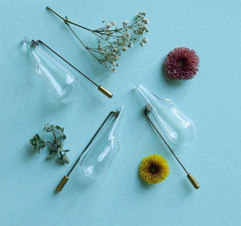 Toildrops Boutonnire Lapel Vase Botanical Pinterest