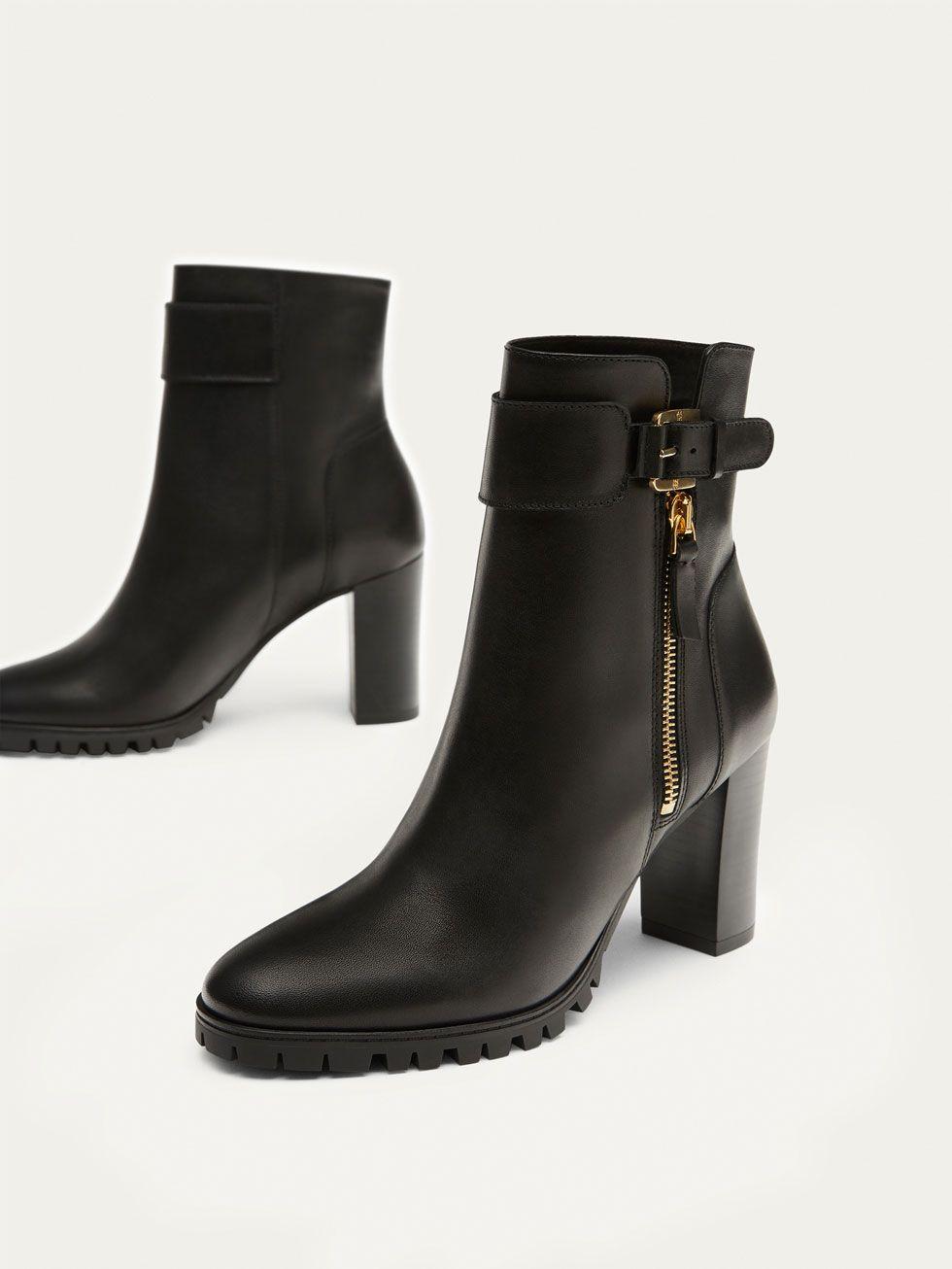 compra genuina verse bien zapatos venta estilo de moda BOTIN TACÓN PIEL NAPA NEGRO de MUJER - Zapatos - Ver todo de ...