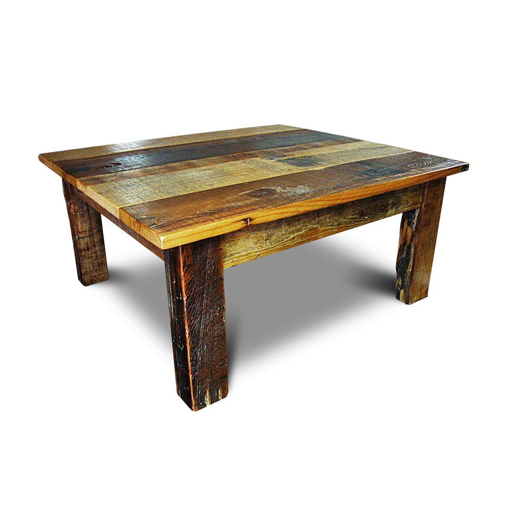 Barnwood beam leg coffee table no 2 table diy end