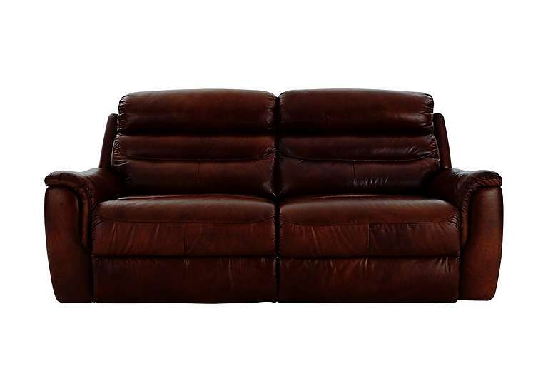 Furniture Village Tennessee 2 Seater Leather Recliner Sofa All Enveloping Leather Comfort At A Truly Affordable Price R Cheap Leather Sofas Sofa Reclining Sofa