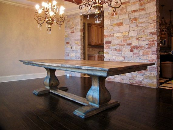Captivating Belly Pedestal Farmhouse Table By RusticElementsFurnit On Etsy, $1650.00