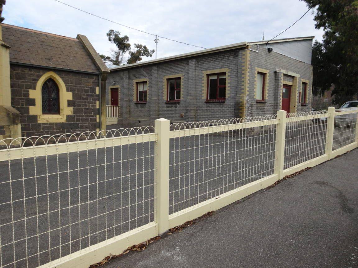 Galvanized steel fence for a bungalow style design. Premium Grade ...