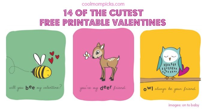 Printable ValentineS Day Cards For The Classroom  Free