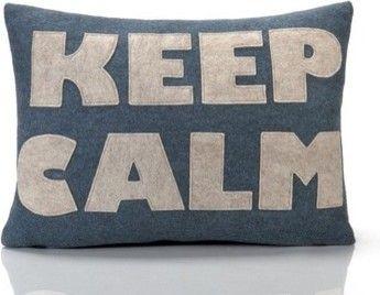 Good Advice Keep Calm Decorative Pillow modern bed pillows