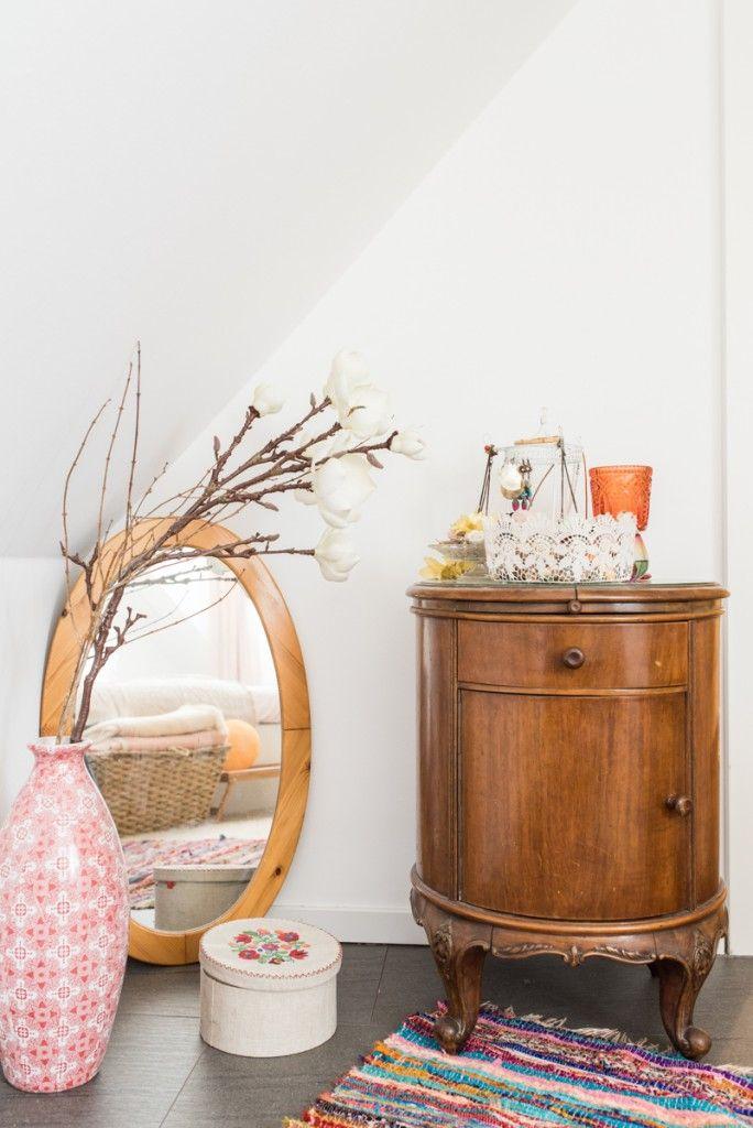 Wohnideen Naturfarben wohnideen im boho loft mit deko ideen im vintage look für das
