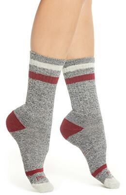 b79960564a SMARTWOOL Designer Birkie Stripe Crew Socks. Find this Pin and more on Women    Clothing ...