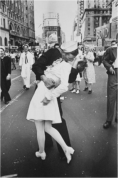 Times Square, New York City - 1945