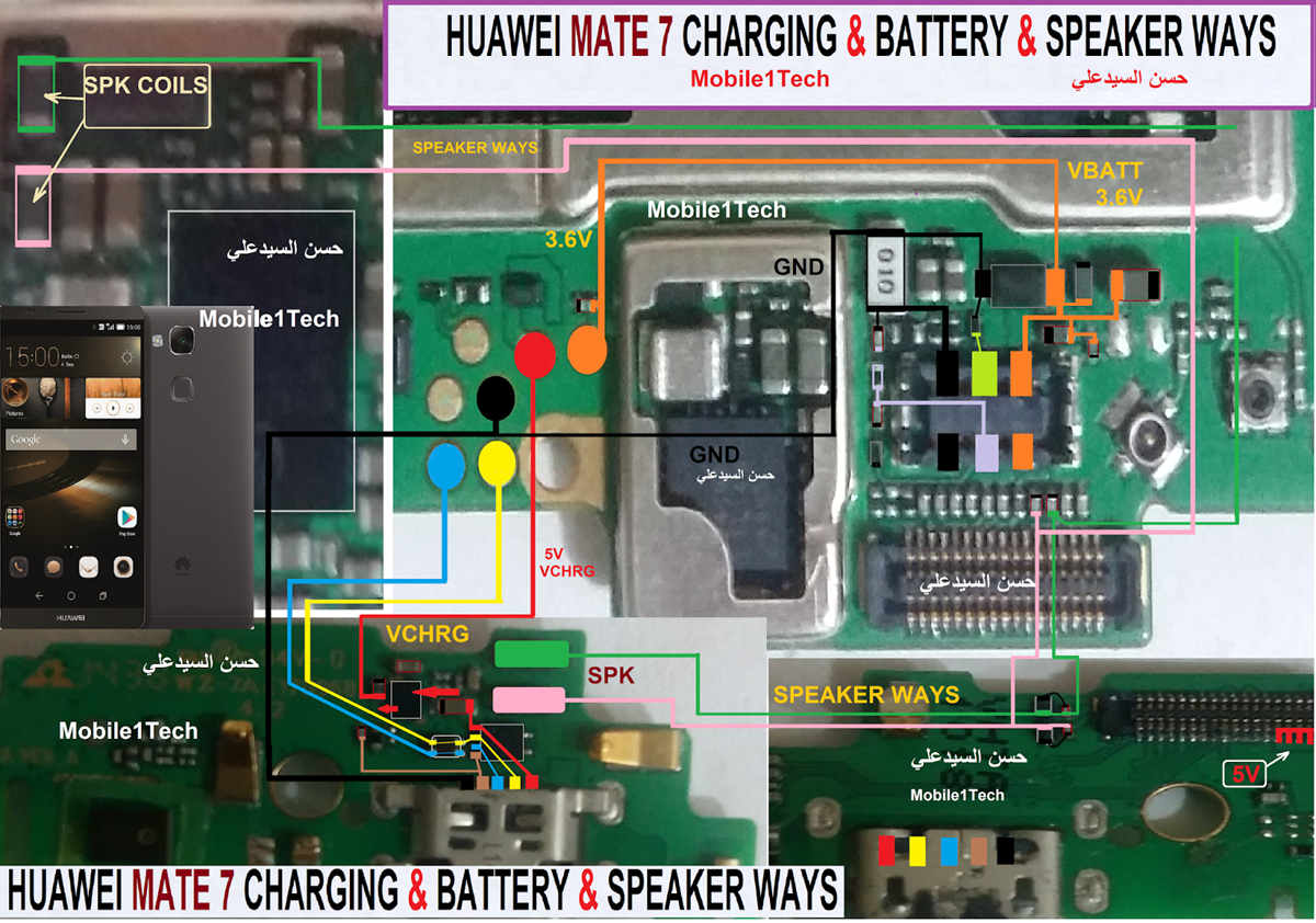 Huawei Ascend Mate 7 Usb Charging Problem Solution Jumper Ways