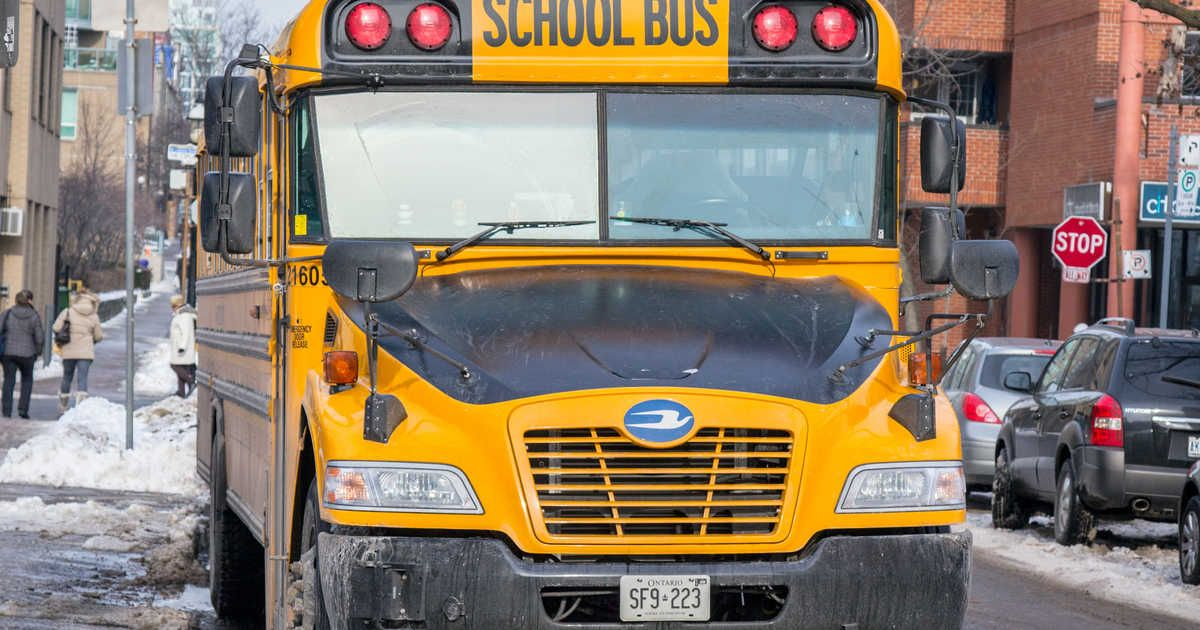 Mississauga School Buses Are Getting New Stop Arm Cameras