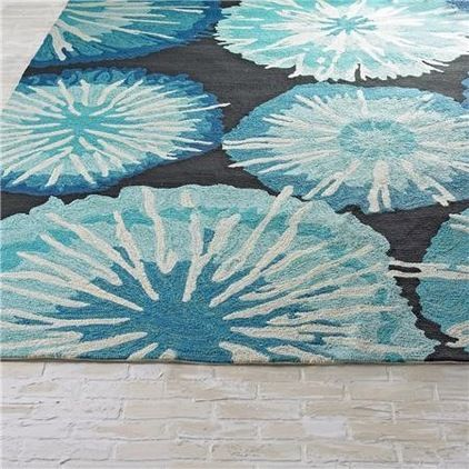 Great Idea Outdoor Rugs Indoors Especially In A Rarely Wet Basement Chrysanthemum Indoor Outdoor Rug 3 Contemporary Outdoor Rugs Beach Rugs Outdoor Rugs