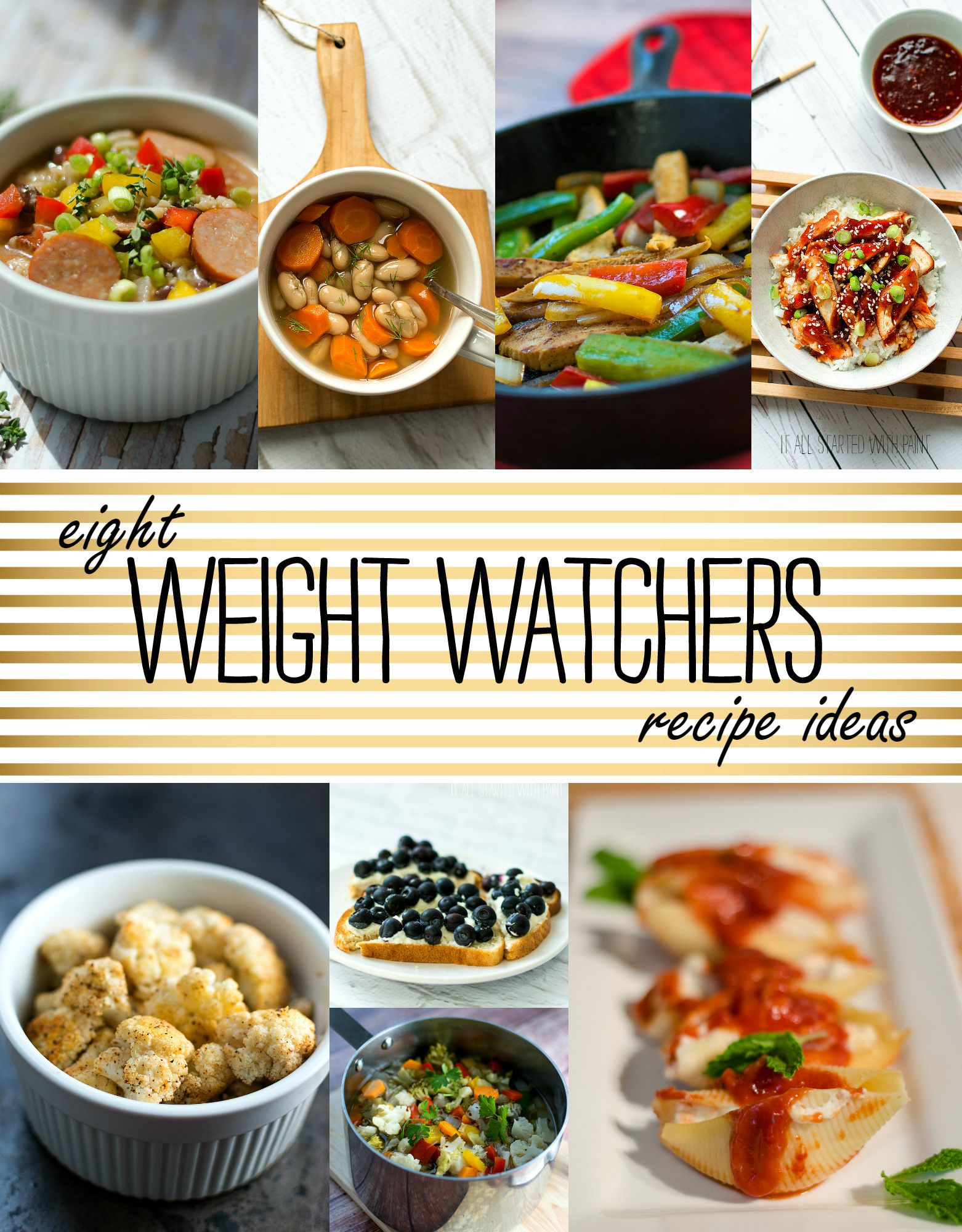 weight watchers recipe ideas | it started with weight watchers