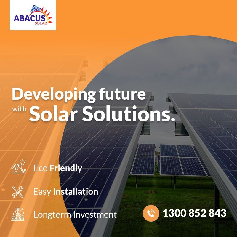 Abacus Solar Developing Future With Solar Solutions Solarenergy Solar Abacus Solarpv Australiasola Best Solar Panels Solar Installation