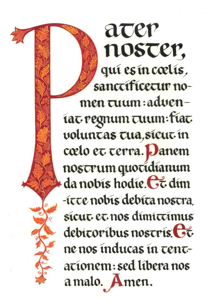 Pater Noster | Theology | Pinterest on
