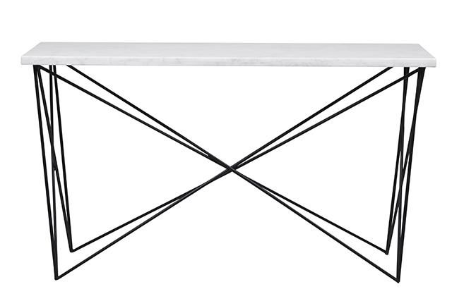 Elle Criss Cross Console Great Styling Piece For The