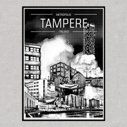Metropoli Tampere -juliste
