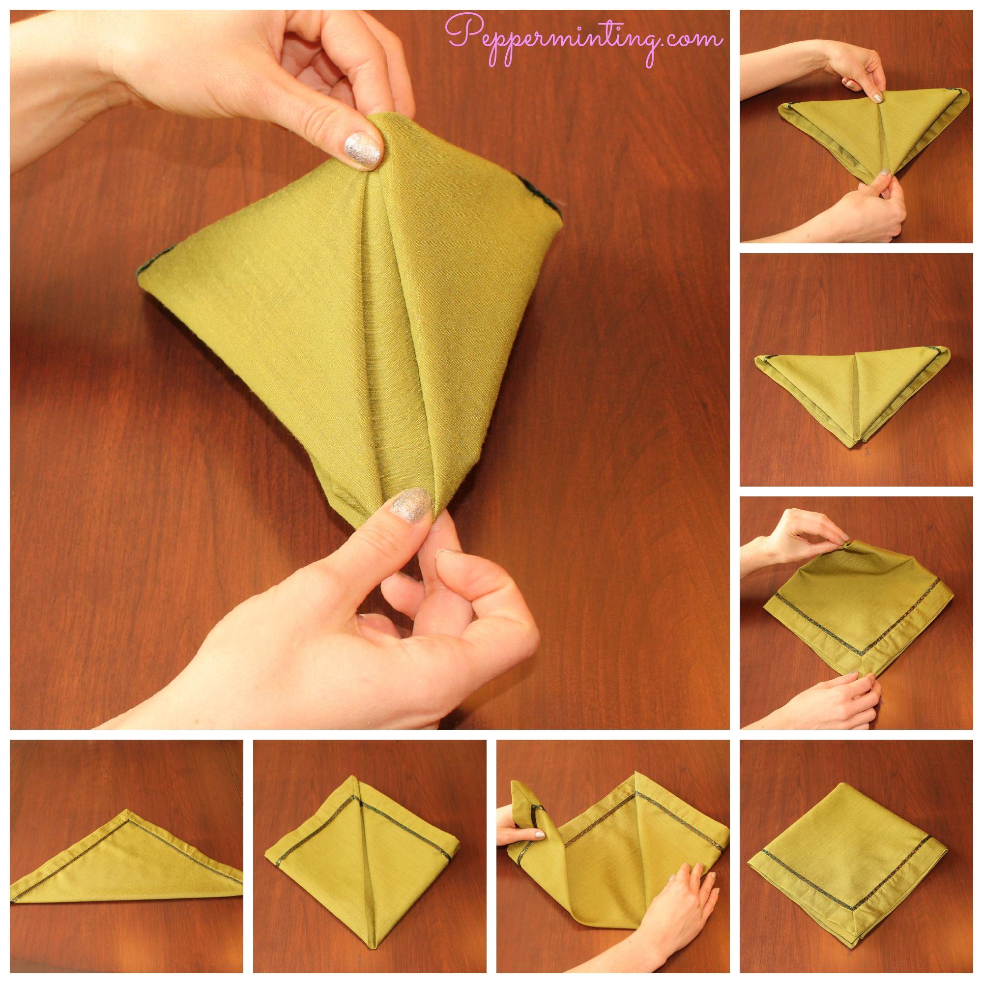 Explore How To Fold Napkins Napkin Designore