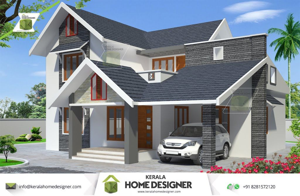 4 Bedroom House Plans Indian Style | Kerala house design