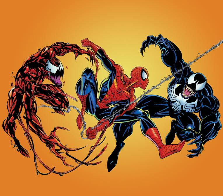 Spider-man, Venom and Carnage. | Comics and Toons ...