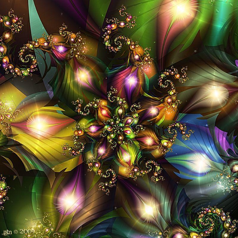 Genesis Omron. Fractal Artwork Spectrum