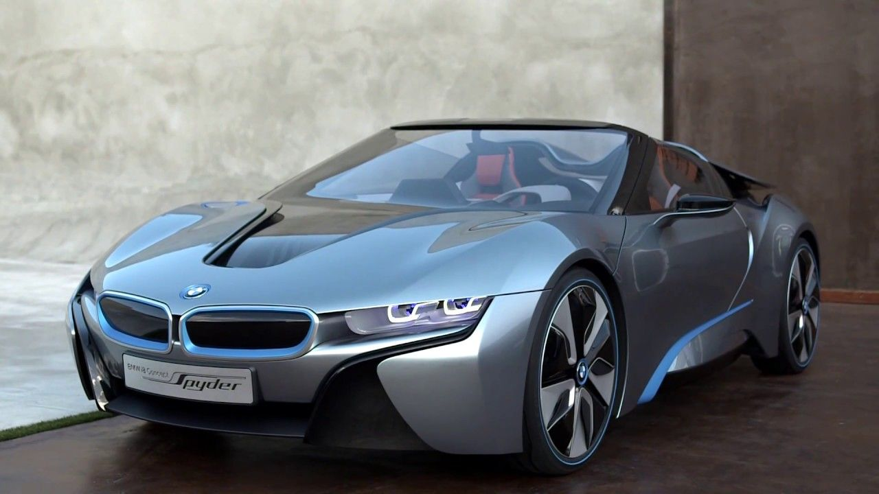 Bmw I8 Concept Spyder Exterior And Interior Design Bmw I8 Spyder