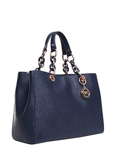 e6d405818 Michael Kors - Bolso estilo cartera para mujer azul marino Michael Kors
