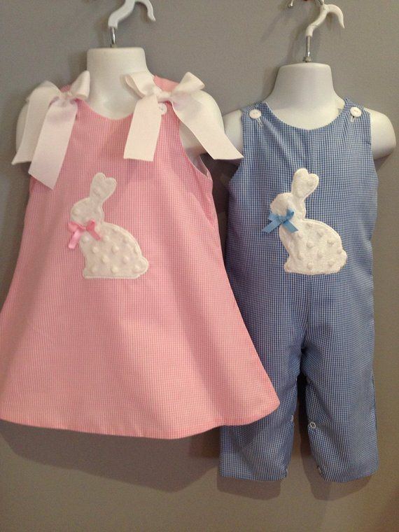 0282b6214b2 Matching Brother Sister Easter Outfits