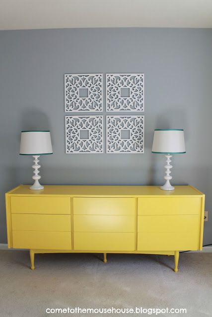 Welcome to the Mouse House: Gray and Yellow Playroom: The Reveal ...