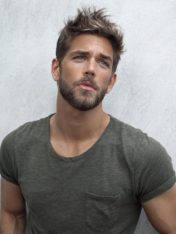 Sexy Short Haircuts For Men With Beard #cool #hairstyles #men #ideas