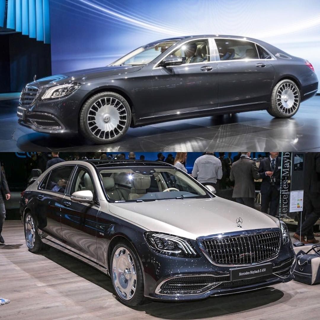 The 2018 Mercedes Maybach Sedan Top And The 2019 Mercedes