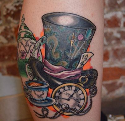 Mad Hatter Tea Party Tattoo | Tattoos | Pinterest | Mad ...