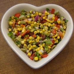 This corn and avocado salsa combines cilantro, lime, corn, and red onions with black beans and tomatoes. What a great and easy-to-make salsa from GoodVeg lensmaster Janiece that can be served on vegan chips! Find the party-perfect recipe here: http://www.squidoo.com/corn-bean-avocado-salsa.