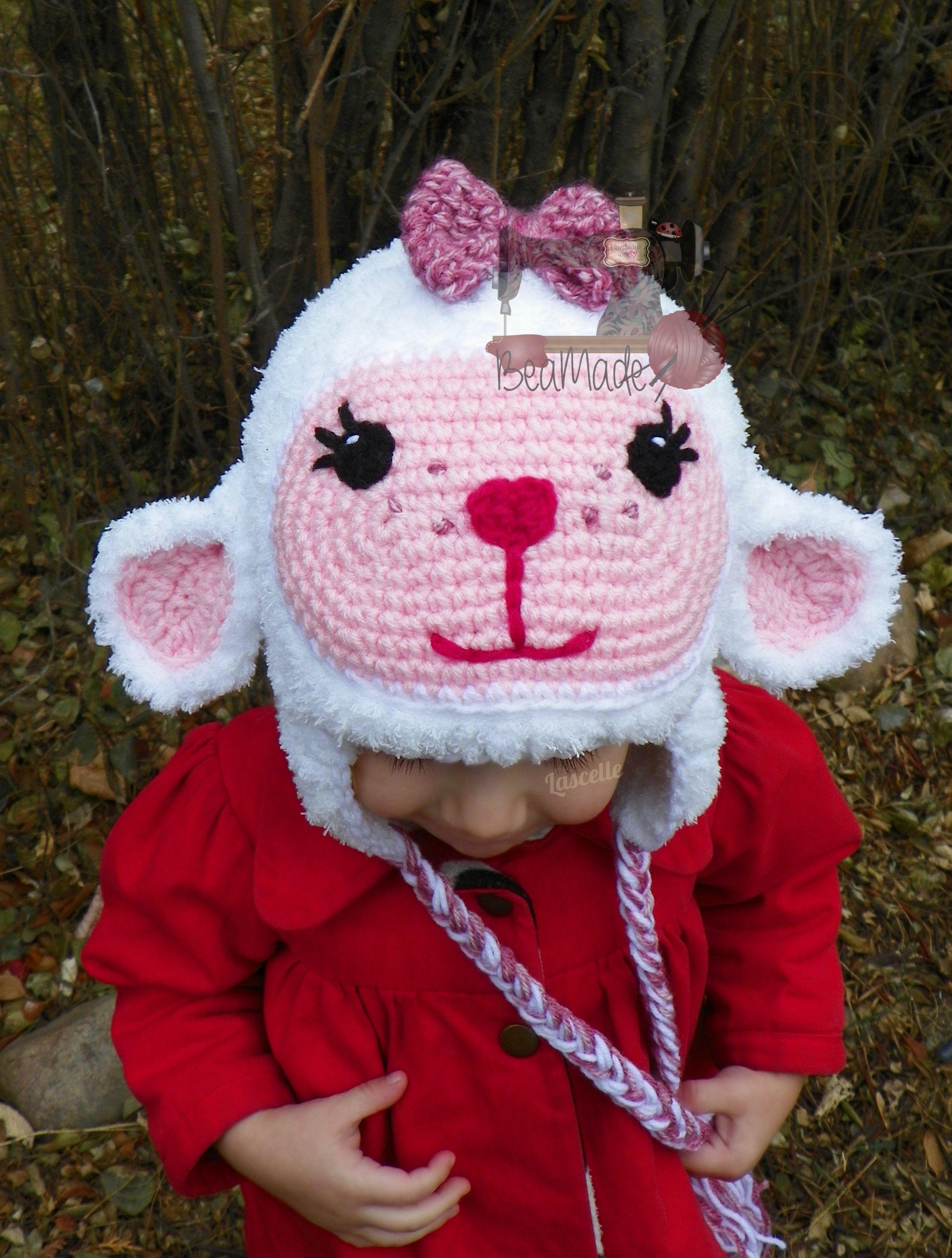 Little lamby hat | marybeth solano | Pinterest | Gorros, Gorros ...