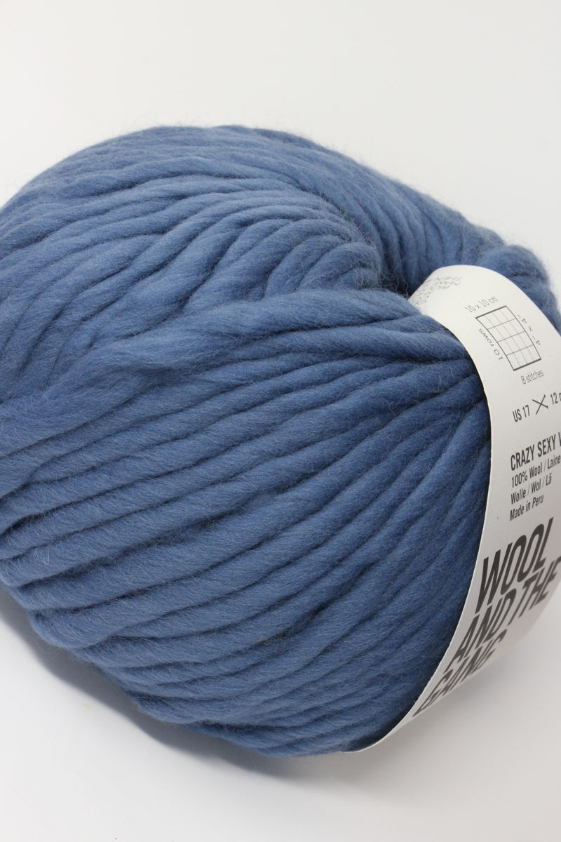 5522f752ab03 Wool and The Gang Yarn Crazy Sexy Wool | Dusty Denim | New Yarn ...