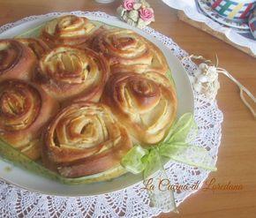 Un impasto sofficissimo e tante dolcissime mele per la Torta di Rose con mele, ideale per una merenda o una colazione meravigliosa