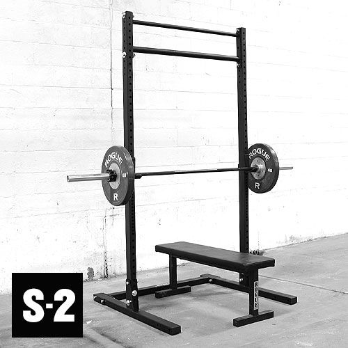 Squats Bench Press Pull Ups Oh My Home Gym Squat Stands