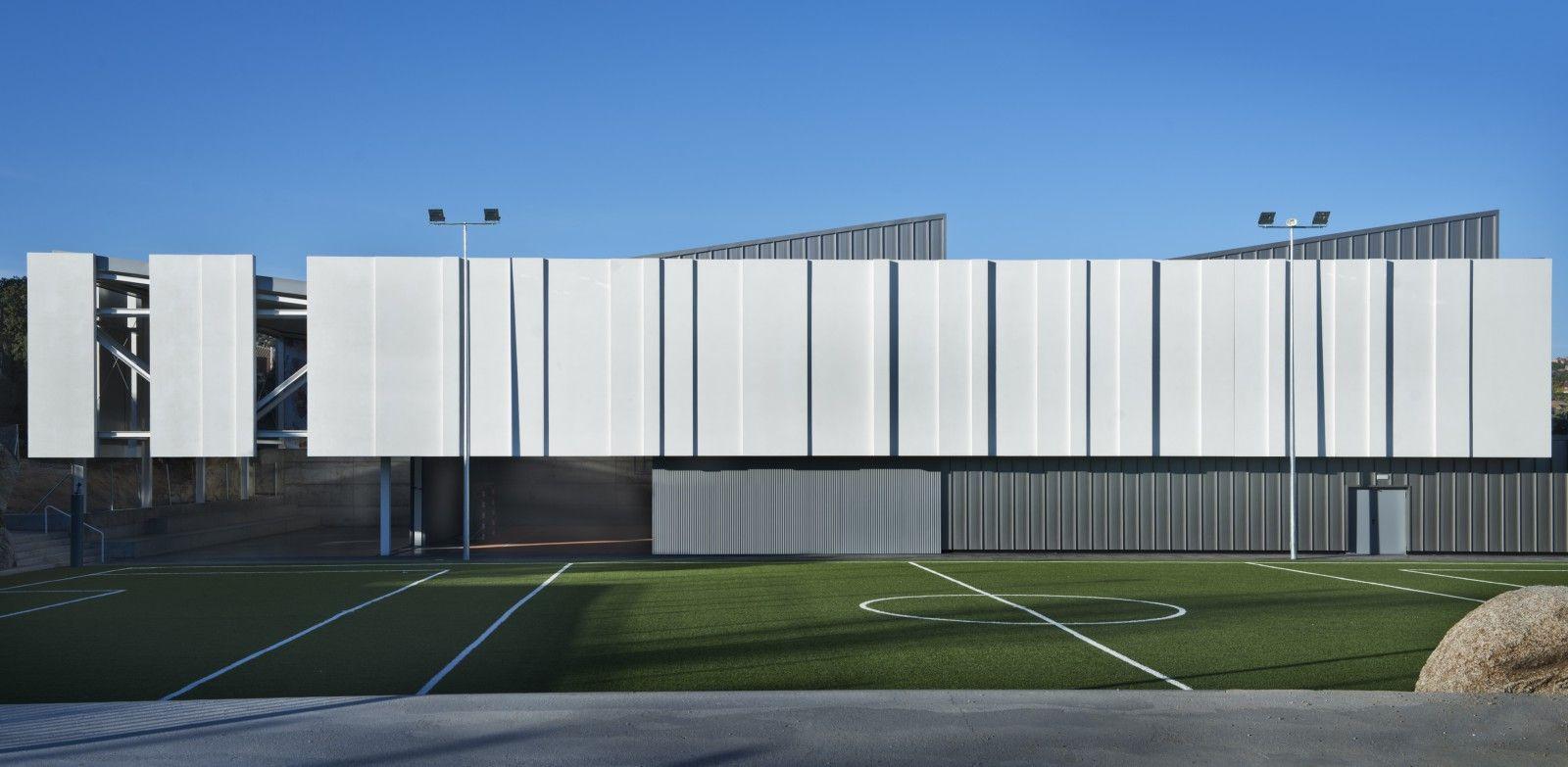 Pabell n de deportes u3 estudio de arquitectura madrid office building pinterest - Pabellon de deportes madrid ...