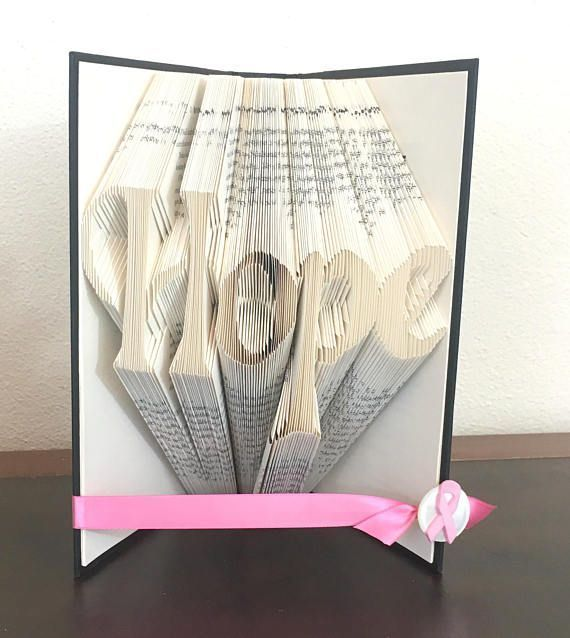 This Book Fold Is A Symbol For Women Who Are Fighting Breast Cancer