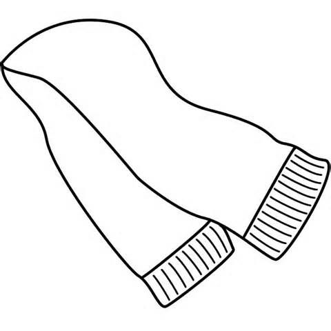 Printable Scarf Coloring Page Yahoo Image Search Results