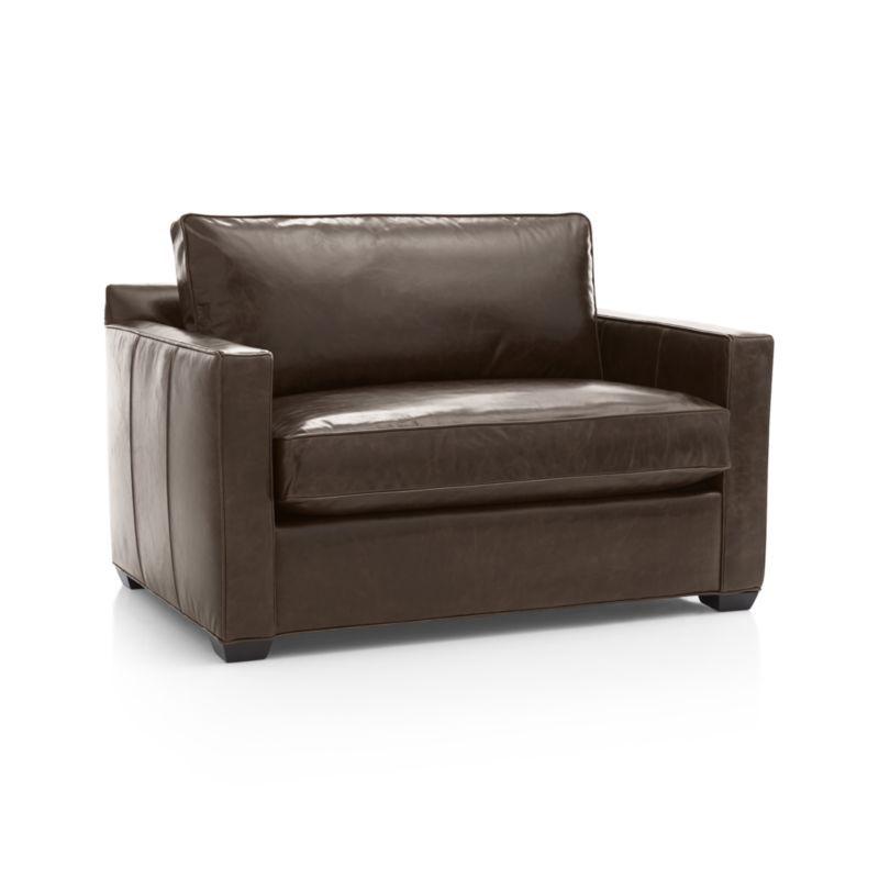 Davis Leather Twin Sleeper Sofa Products