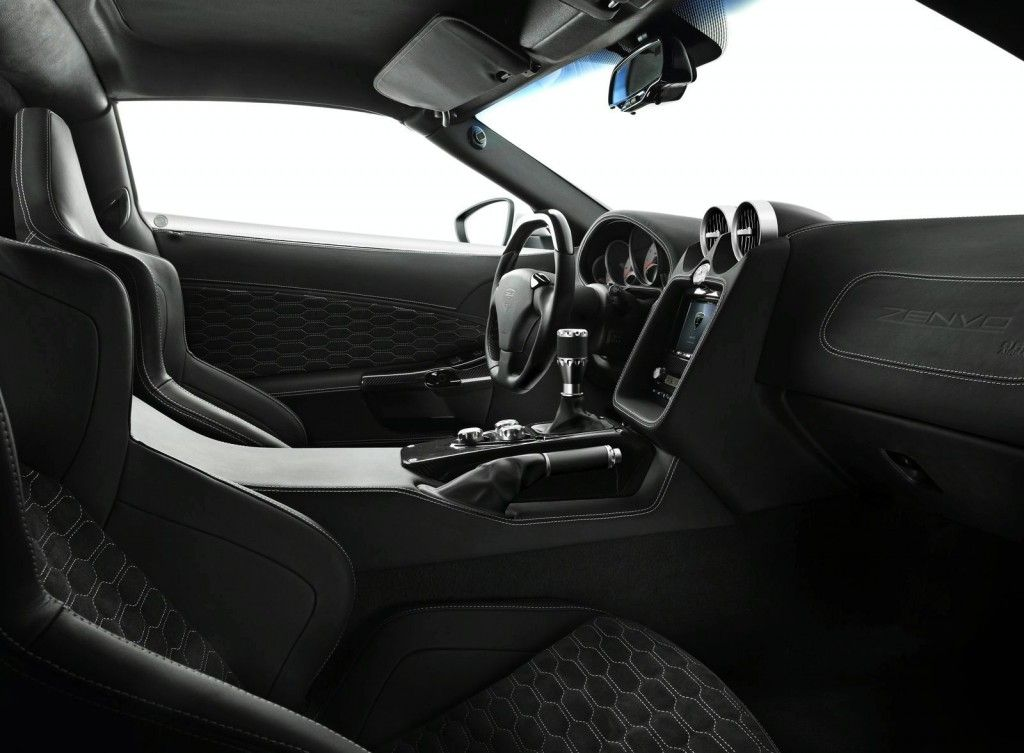 Limited Edition Zenvo St1 Supercar Interior Car Is 1 800 000