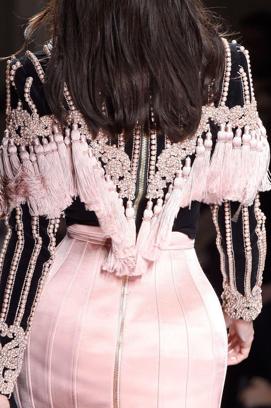 Balmain at Paris Fashion Week Fall 2016