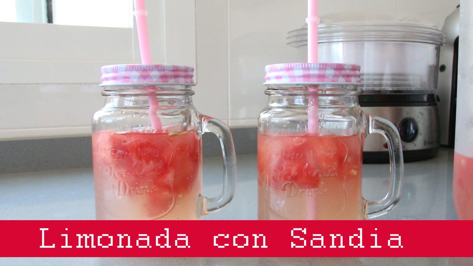 limonada con sandia